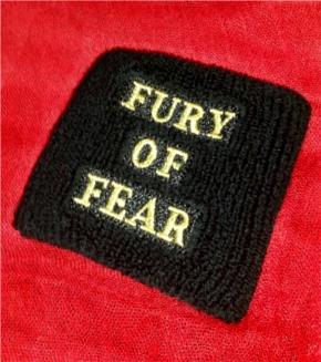 Fury of Fear オリジナルリストバンド